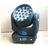 Nouvelle 19*15W 4en1 LED Osram Head Wash mobile avec zoom