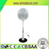 ventilateur rechargeable USB à C.A. de batterie de 16inch 12V de charge solaire électrique de C.C
