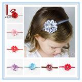 Les enfants d'un sèche ornement bandeau Pearl polygonale fille aux fleurs de bande de cheveux pour bébé