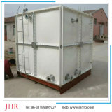 Fabricante seccional del tanque de agua de la fibra de vidrio FRP