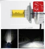 Faro automatico tutto compreso H4 del motociclo di Fanless 3s LED di alto potere del sistema di illuminazione di 3000lm 5colors