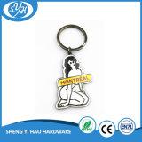 Förderndes Großhandelsgeschenk-preiswerter Form-Decklack Keychain