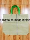 Saco de compra não tecido que faz a máquina