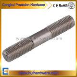 La double extrémité de DIN835 DIN938 DIN939 cloute des boulons en acier inoxydable 304
