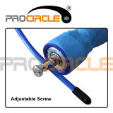 Cordas de salto do exercício da corda do cabo ajustável