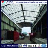 중국에서 아름다운 조립식 강철 모듈 영빈관