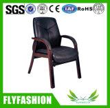 사무용 가구 단단한 나무 의자 행정상 가죽 의자 (OC-46C)