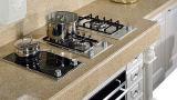Белая американская мебель кухни твердой древесины типа (zq-019)