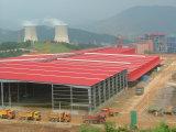 Almacén doble prefabricado de la estructura de acero de la luz de la cuesta (KXD-79)