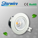 7With8W High Lumen 3 Years Warranty Dimmable COB LED Downlights