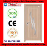 Hot Vente de porte à revêtement en PVC (CF-W041)