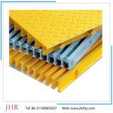 高いDencity FRP Pultrudedのプラスチック床の格子