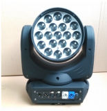 Nieuwe 19*15W 4in1 Osram LED Moving Head Wash met Zoom