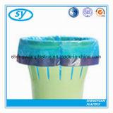 Sac de détritus imperméable à l'eau en plastique de cordon de qualité