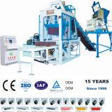 Yc-Qt6 máquina de fabricación de ladrillos de cemento y cenizas volantes