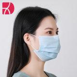 Wegwerpstofmaskers White List goedgekeurd stof wegwerpbaar 3 lagen Met oorlus