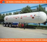трейлер топливозаправщика дороги 50000liters 49.6m3 LPG LPG