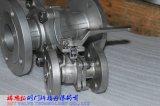Нержавеющая сталь DIN F4/F5 2PC служила фланцем шариковый клапан