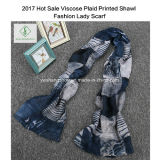 Heißes Schal-Plaid gedruckte Form-Dame Scarf des Verkaufs-2017 dickflüssiges
