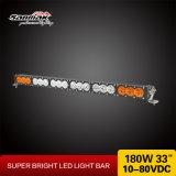 Barra ligera curvada campo a través del alto color multi LED del lumen 180W