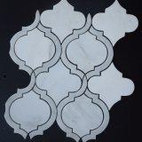 Дешевая каменная мозаика мрамора плитки с строительным материалом