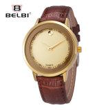 Wristwatch кожаный планки Altra Mens Causual кварца Belbi тонкий в продавать способа горячий