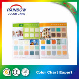 Gráfico de cores Emulison para papel de parede Material Buidling