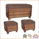 居間および寝室の家具のための現代アクセントの記憶のベンチのオットマンの箱の腰掛け
