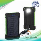 태양 에너지 은행 이중 USB 여행 힘 은행 20000mAh 외부 건전지 이동 전화를 위한 휴대용 충전기 Bateria Externa 팩