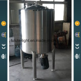 Solvant en acier inoxydable bas réservoir d'agitation émulsionneur