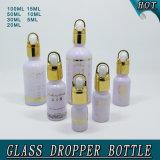 Bouteille de bouteille en verre rond
