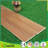 Comercial de PVC de patrón de madera decorativos interiores haga clic en el piso del sistema