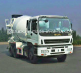 재고 ISUZU 트럭, 8-10 m3 ISUZU 구체 믹서 트럭