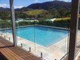 Im Freien Swimmingpool Frameless Glasgeländer mit Zapfen