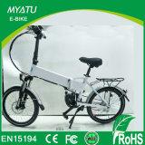 Motor central para bicicleta elétrica de dobra de 20 polegadas