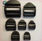 Sujetadores de plástico lateral hebilla ajustable para el bolso