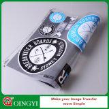 Impresión de la escritura de la etiqueta del traspaso térmico de la alta calidad de Qingyi para la ropa