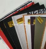Uso mezclado común, cuero artificial del PVC de los colores mezclados