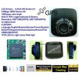 Новые частные отслеживания GPS Car DVR с 2.0inch Car Car Black Box, 5.0inch автомобиль, камеры контроля парковки автомобиля Recoder цифрового видео, DVR-2001