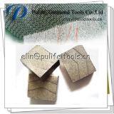 Disco do cimento armado de quartzo da pedra da estaca do segmento do granito da ponta do diamante