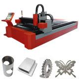 Máquina de estaca profissional do laser da fibra do CNC do aço inoxidável do fornecedor