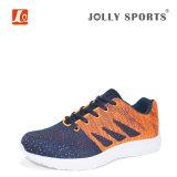 Nuevos zapatos deportivos de diseño de moda para hombres con Flyknit