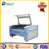 Dekcel CNC pequeño grabador de corte láser de CO2 de la máquina para caucho, MDF