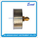 Type indicateur de Mesurer-Bride de pression classé parPétrole arrière de pression de connexion de pression