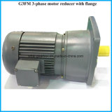 Footed Mounted Shaft 18mm G3 Series Helical Electric Geared Motors