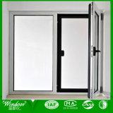 Ventana de aluminio superficial revestida de la venta del polvo caliente de la ventana de aluminio/ventana del marco