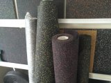 Gummibodenbelag mit verschiedenem Typen sind in den verschiedenen Farben erhältlich