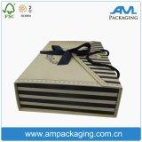 Складывая коробка плоского женское бельё квадрата печатание упаковывая с ручкой