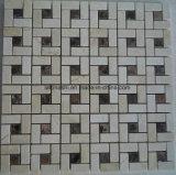 Хорошая плитка мозаики мрамора цвета смешивания цены для пола плавательного бассеина