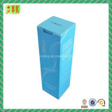 Caixa de papel cosmética de embalagem do papel de arte de Foldble